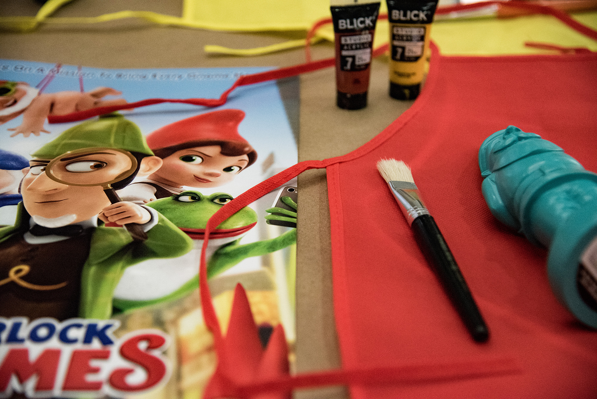 Sherlock Gnomes Party Ideas