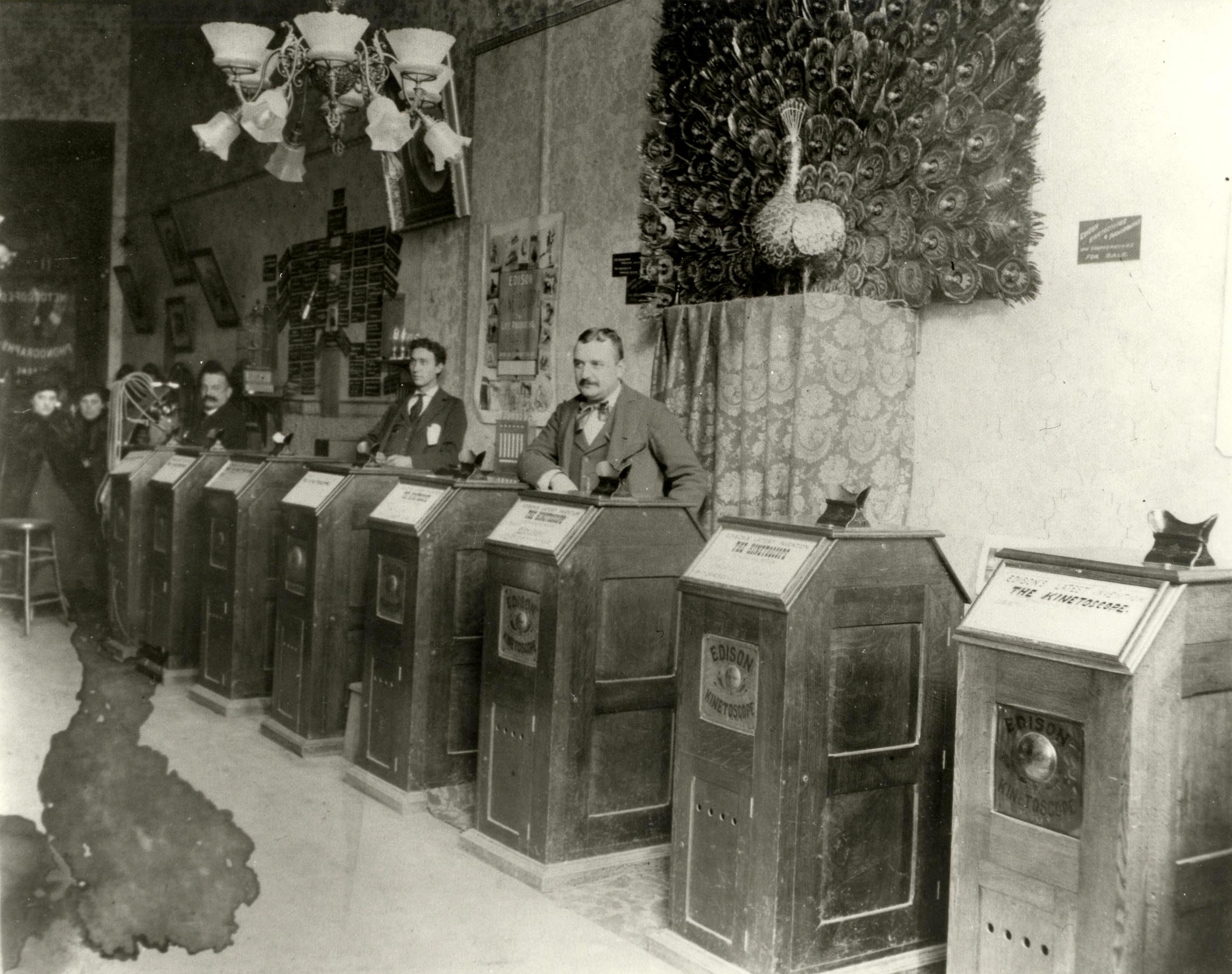 San Francisco Kinetoscope Parlor, 1895