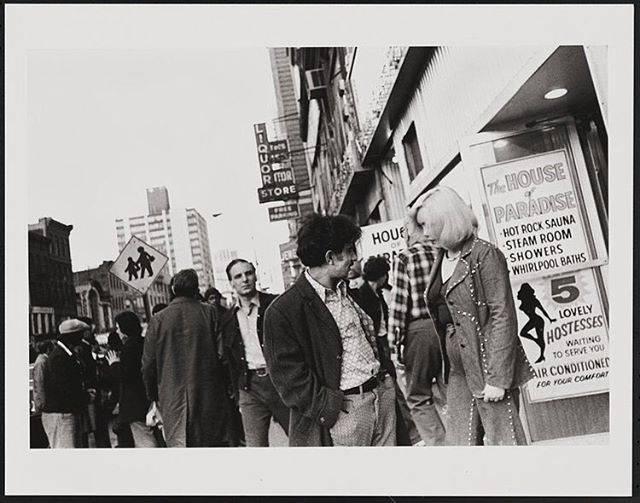 This week: Hardhats and Runaways. A story of generational clashes over war and sex, from Vietnam to Times Square. Link in bio. (Photo: Times Square, 1976 / Leland Bobbé, from the Collections of the Museum of the City of New York)