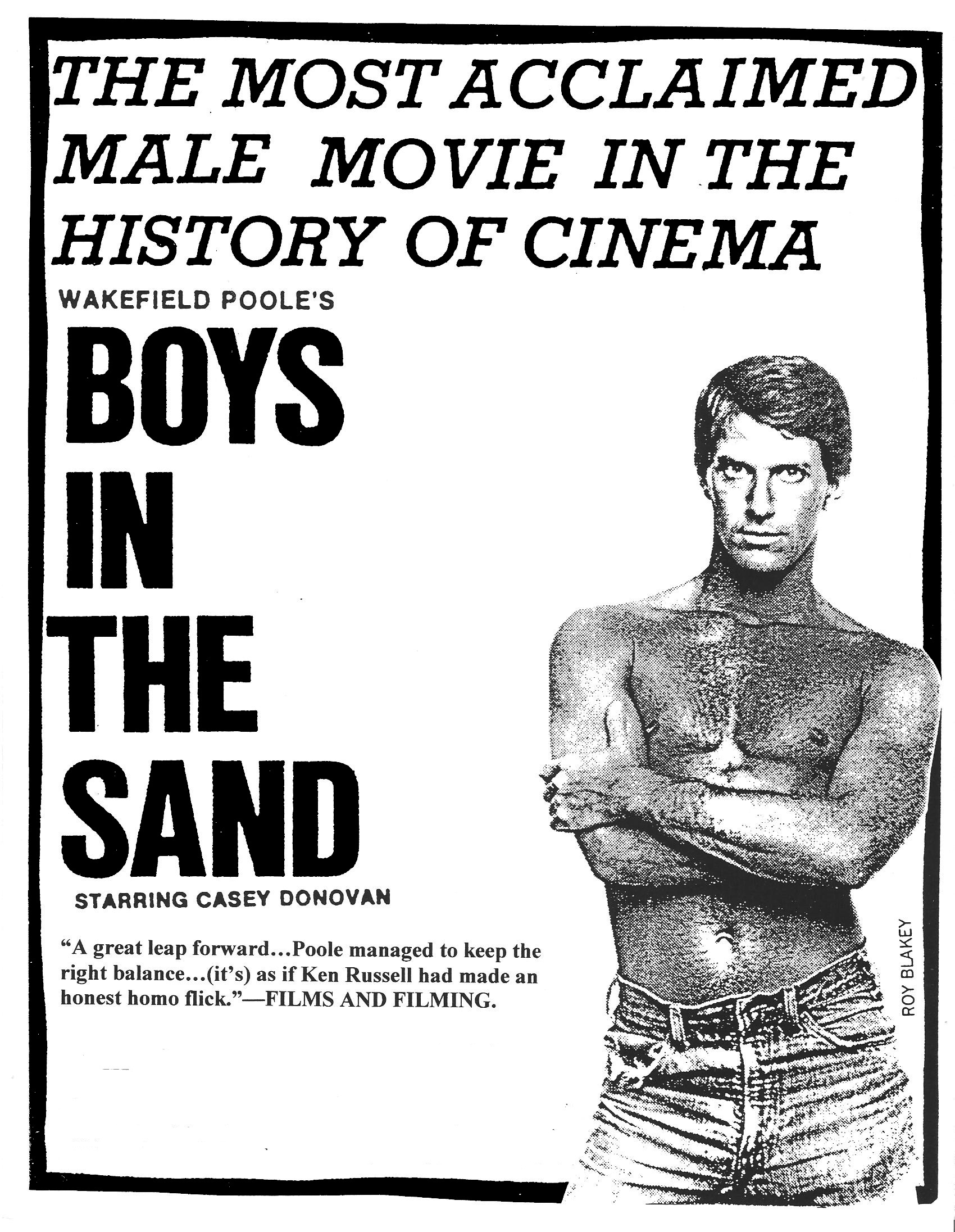 The Boys in the Sand , 1971