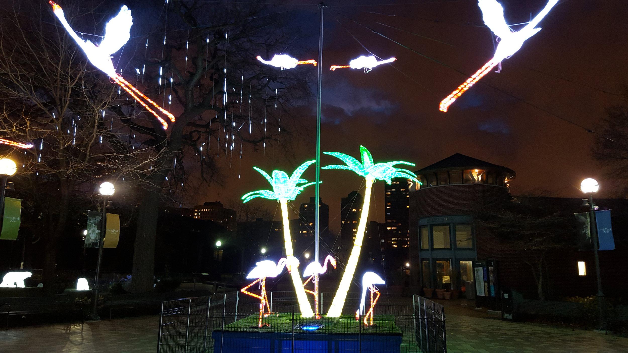 Outdoor Holiday & Christmas LED Animal Displays