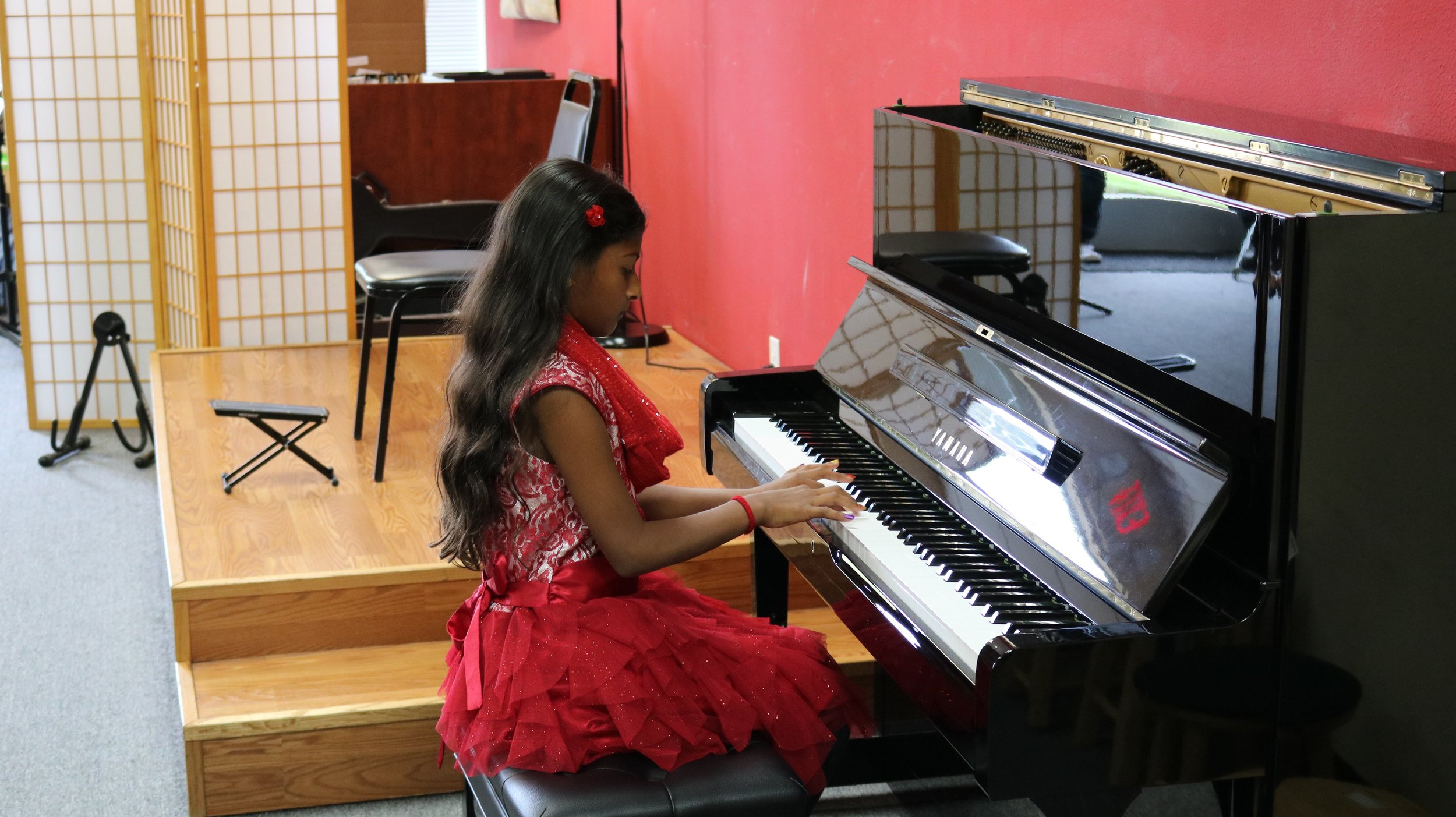 Aanya performing at the CCM Santa Clara recital October 29th