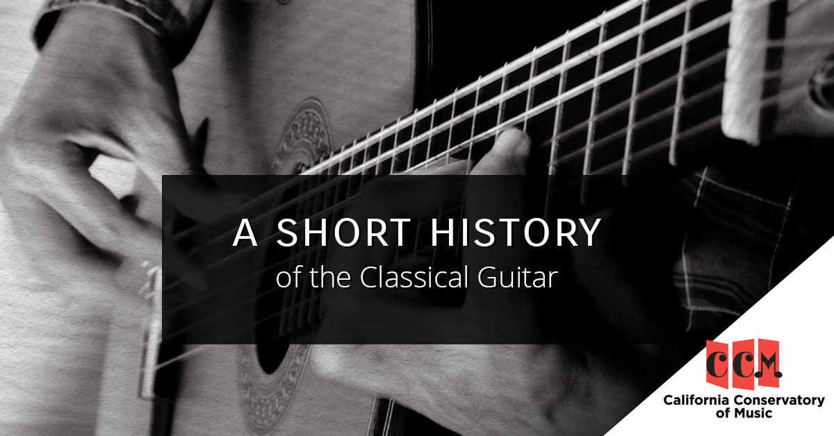 A Short History of the Classical Guitar — Music Lessons