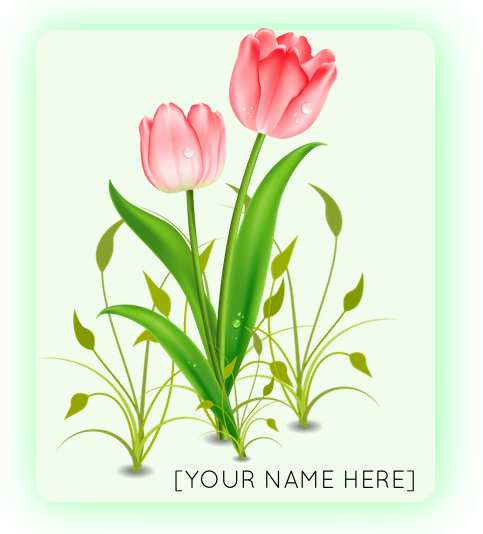 $200   Leaf Level - Have your name/ logo affixed on a large sized flower panel in the set; andListed in the program as a Leaf Level Sponsor.