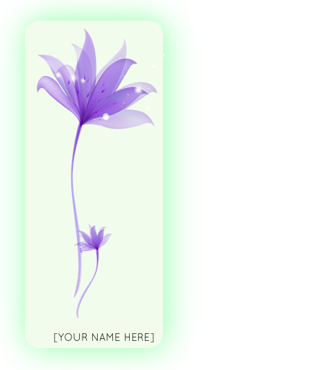 $100   Petal Level - Have your name/ logo affixed on a medium sized flower panel in the set; andListed in the program as a Grass Level Sponsor.