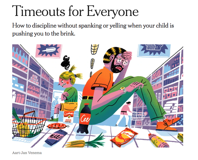 April 2019: The New York Times published an article on tips to disciple children.