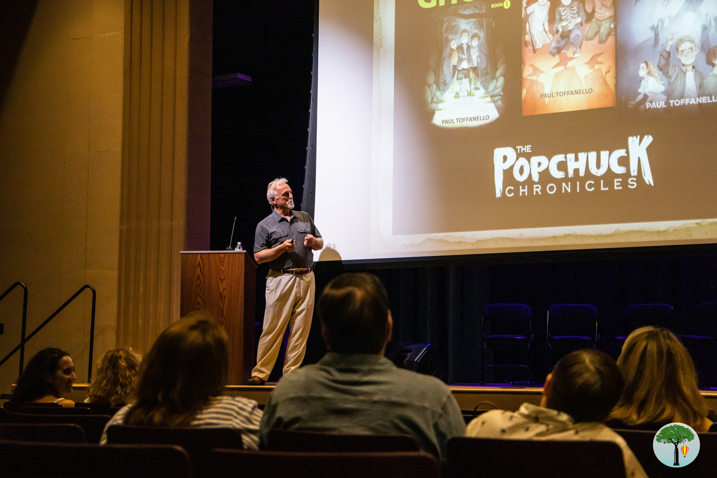 Paul Toffanello, author of  The Popchuck Chronicles , shares his inspiration for the novels!