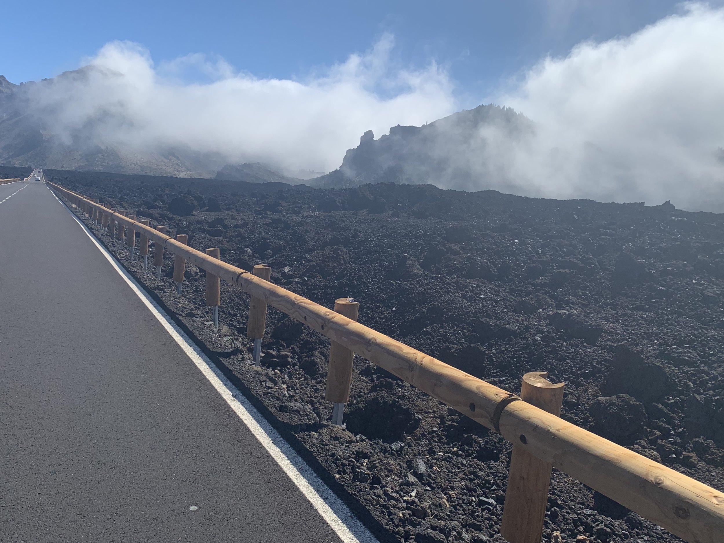 Die Straßen auf Teneriffa - hier verbrachte Fletch aus dem Bikmo CX Team sein Trainingslager im Februar 2019