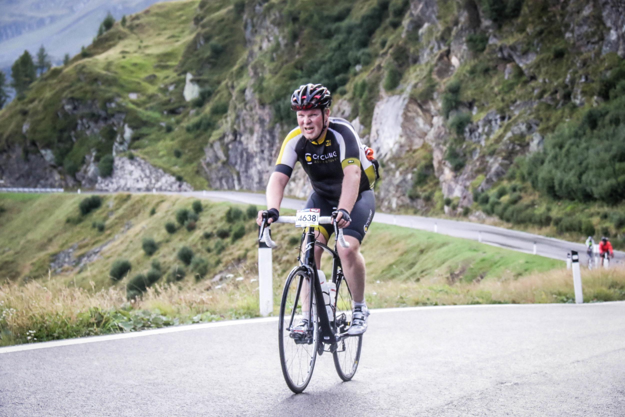 Für Xandi geht es beim Radfahren um den Spaß an der Freude - dazu gehört auch das Leiden.