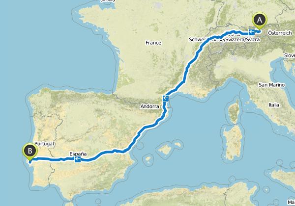 2526 km und 18.112 hm liegen auf dieser Bikepacking Strecke