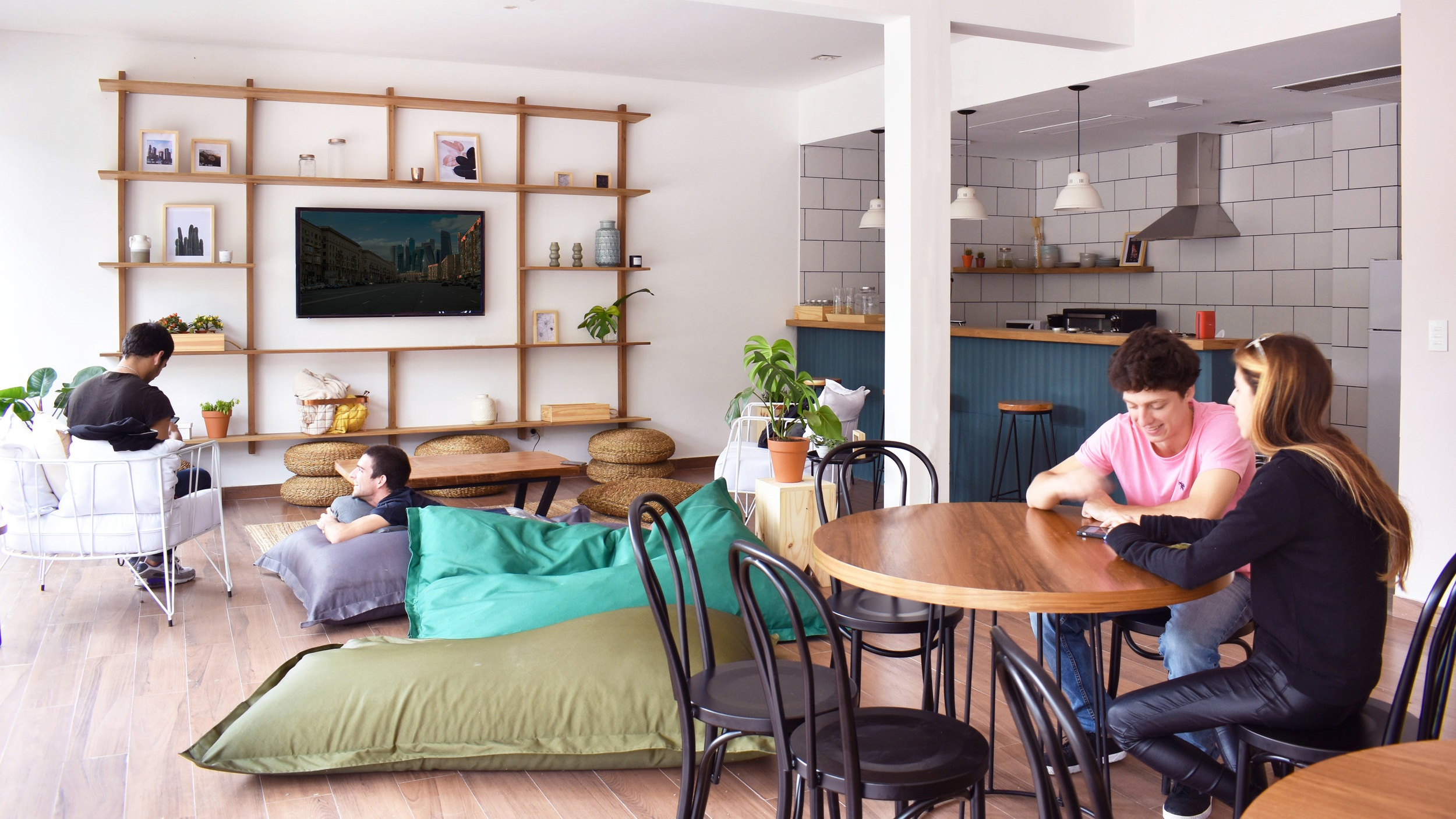 Our Casas - We design buildings with private apartments and coliving areas, so that everyone who lives in Casa Campus is part of our community.