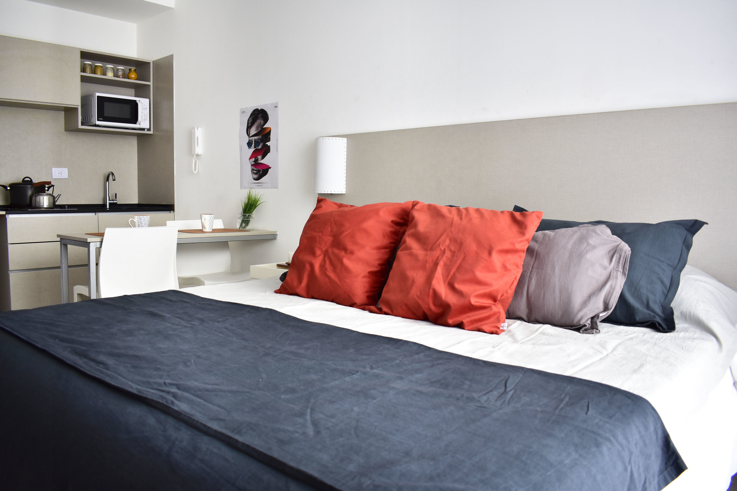Your space - Your very own place, fully equipped and furnished. Focus on living while we take care of everything else.