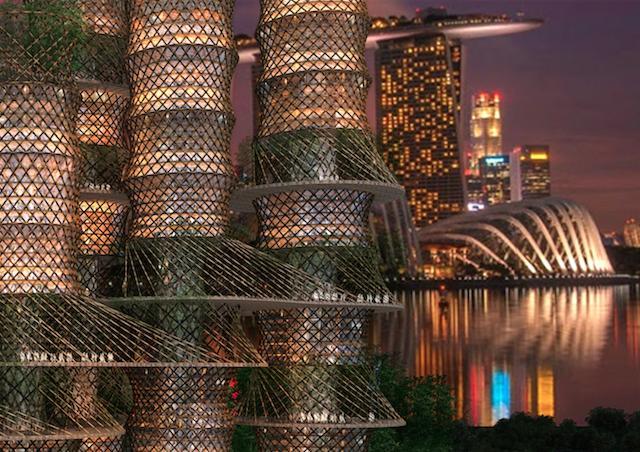 The Bamboo Skyscraper