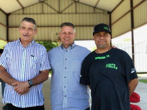 alan, pastor ed, and glenn