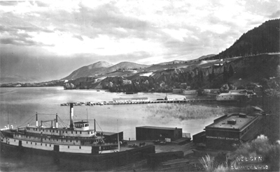 A walking and/or driving tour of Summerland's original lakeside townsite. -