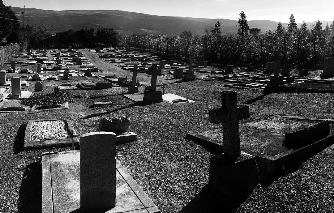 Discover the history of Summerland pioneers through this Church of England cemetery tour. -
