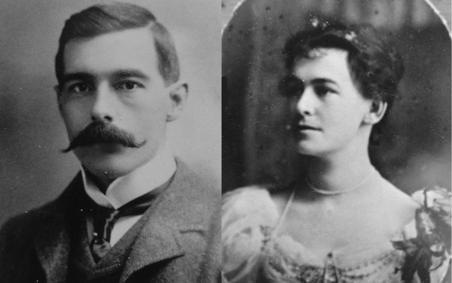 George and Caroline Barclay.