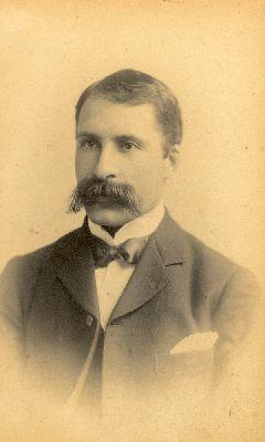 A portrait of E.R. (Bob) Faulder