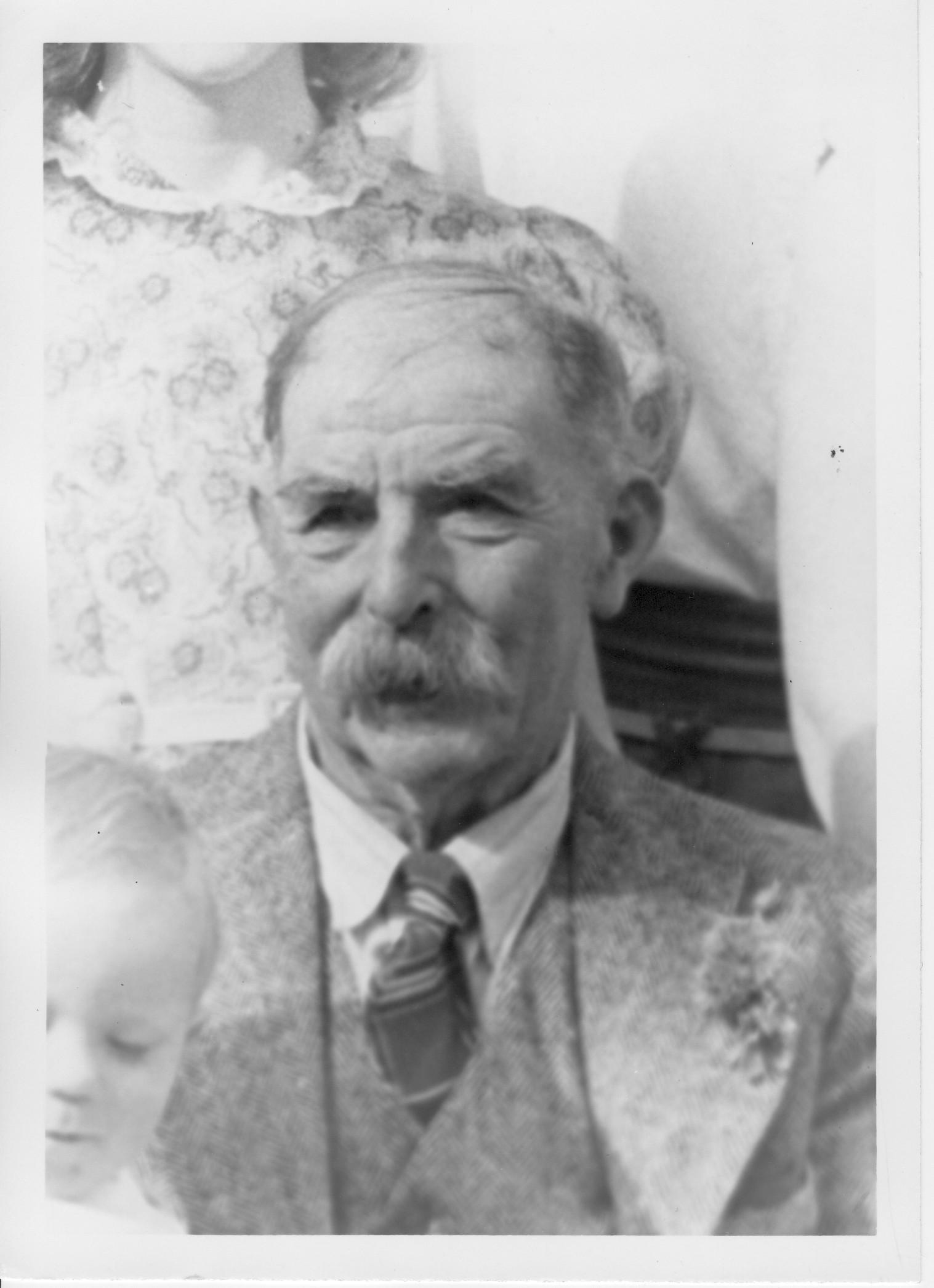Portrait of Harry Dunsdon.