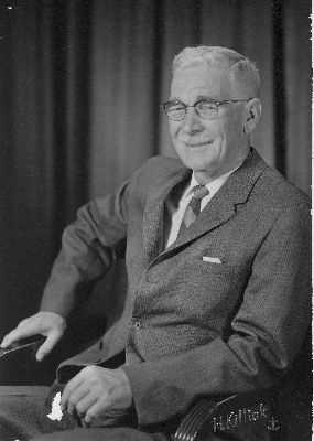 A portrait of Dr. W.H.B. Munn, who was a doctor in Summerland.