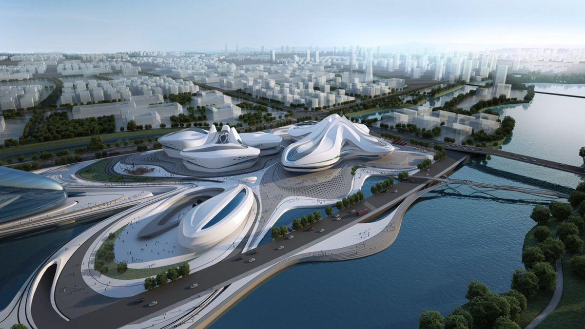 Projeto de Zaha Hadid