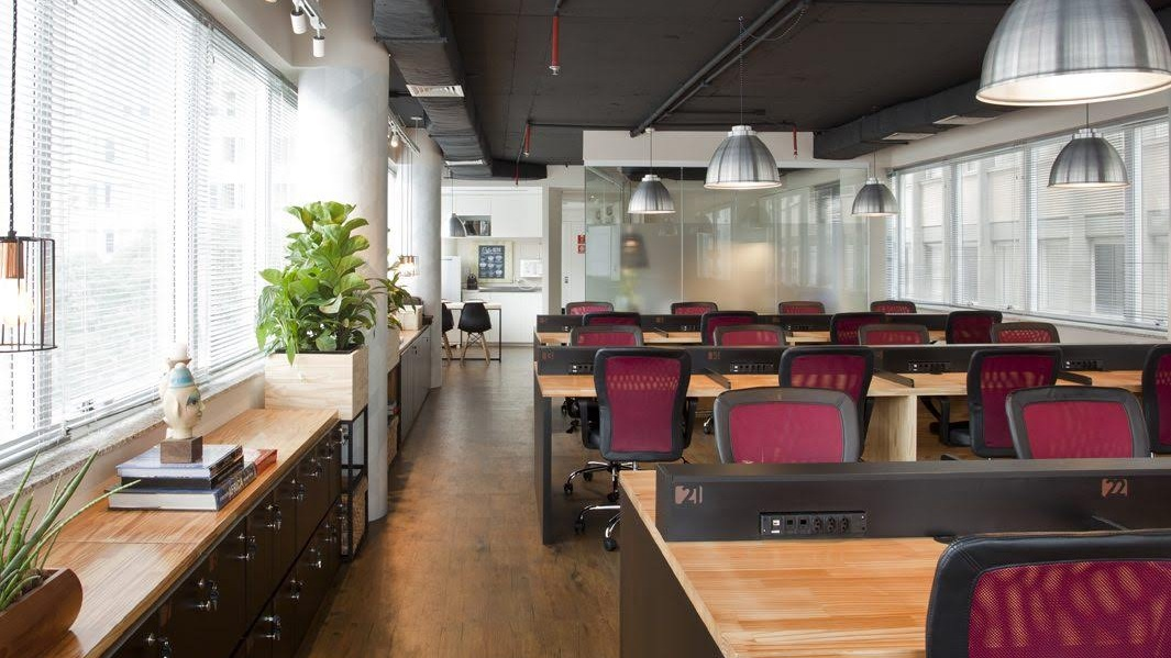 Espaços de Coworking prontos para usar All-Inclusive