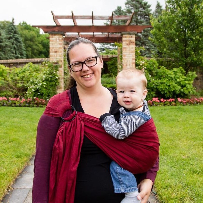 Babywearing Information - I have a large collection of all different styles of carriers and am happy to provide the information and support for you to try them on and see what style works for you$25