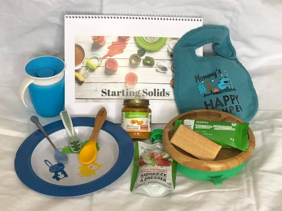 Starting Solids - Are you looking to start solids with your little one?Overwhelmed about where to start?Our starting solids class is done in the comfort of your own home so you get individualized information just right for you and your family$30