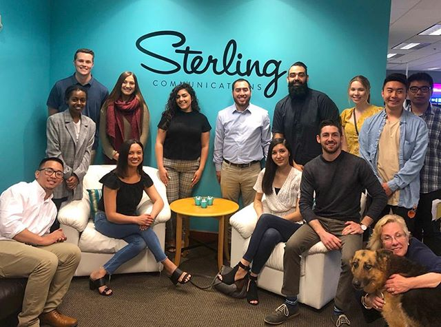 PRSSA SJSU had a blast visiting @sterlingcommunications this morning. They got a sneek peak into the work the team has produced for some pretty awesome health and tech companies!  Some tips our students took home: 1. Have patience with yourself when starting your career. It's okay if everything doesn't always go according to plan!  2. Read. Read. Read! Anything and everything you can get your hands on and especially in the areas you're most interested in!  3. The more you understand measurement and ROI in PR, the more you'll stand out in interviews. Show how you can you interpret the success of a campaign.  See you again soon, Sterling! #PR #Tech #Health #Comms #PRSSA #SJSU
