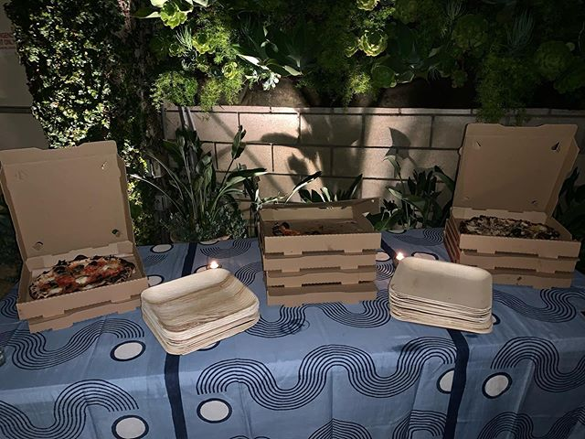 Anyone care to take a whole pie on your way out? Be our guest! #pizza #la #losangeles #hollywood #ca #cali #california #eventplanner #event #planner #eventplanning #planning #eventproducer #producer #eventproduction #production #eventdesign #design #eventmanagement #management #events #eventprofs #eventpros #losangelesevents #laeventplanner #hospitality #eventstaff #eventstaffing #methodeventproductions #methodstaffing