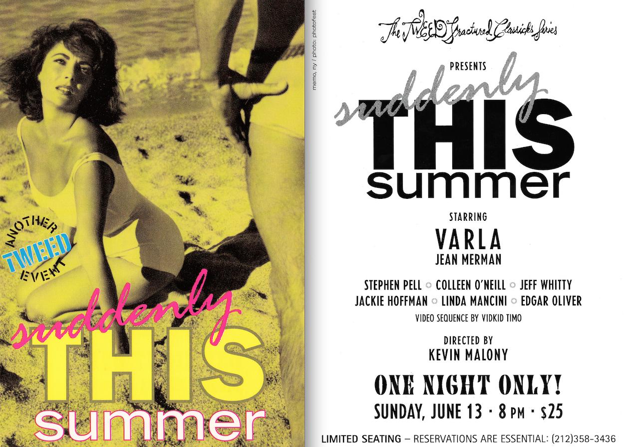 Suddenly This Summer (Suddenly Last Summer) - June 13, 2001