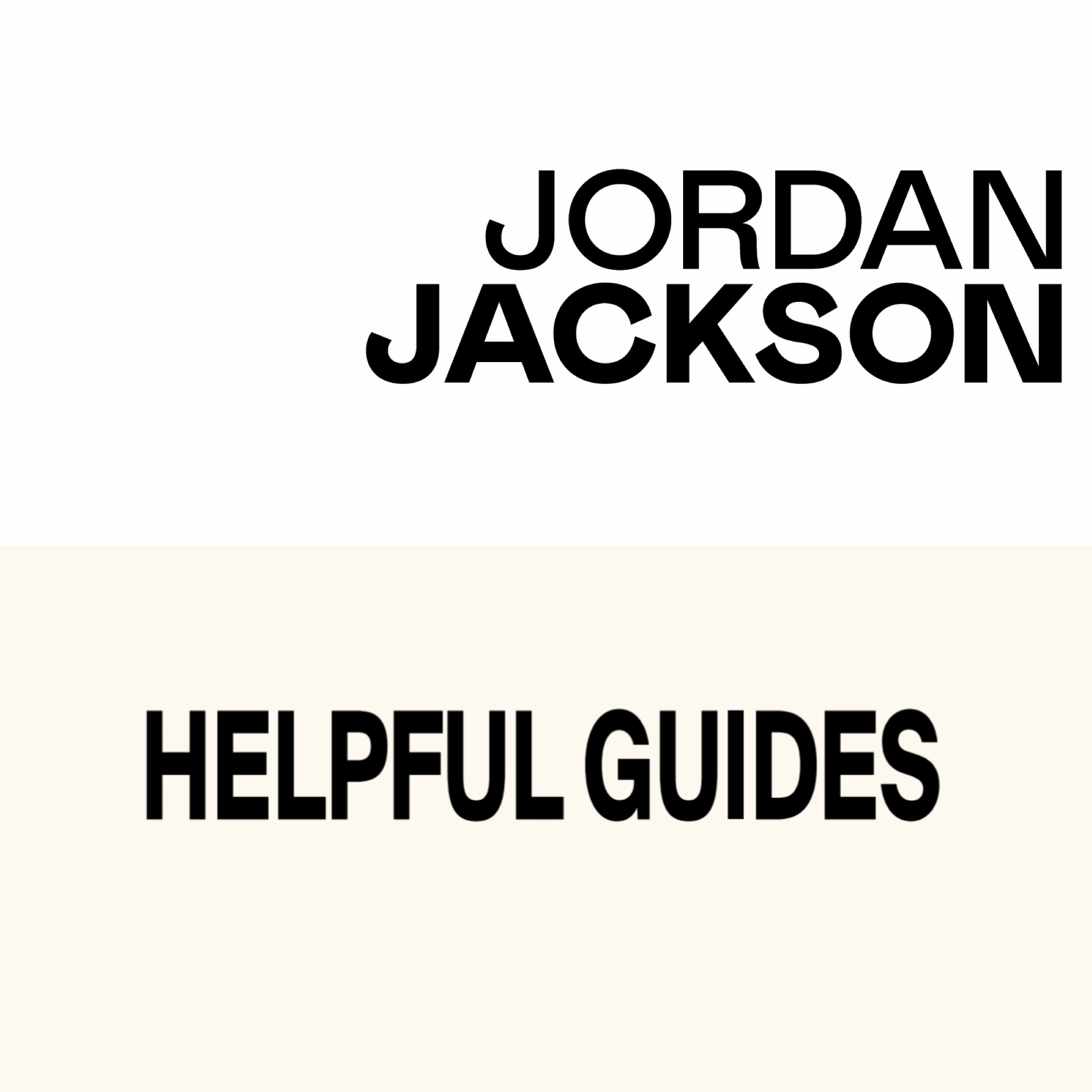 Emerging Designer + Creative Thinker - Talented apparel designer Jordan Jackson, specializing in men's casual sportswear, teams up with Helpful Guides own, Jason Murphy, creative director and artist Rob Lewis who specialize in custom pieces in both men and women casual wear.