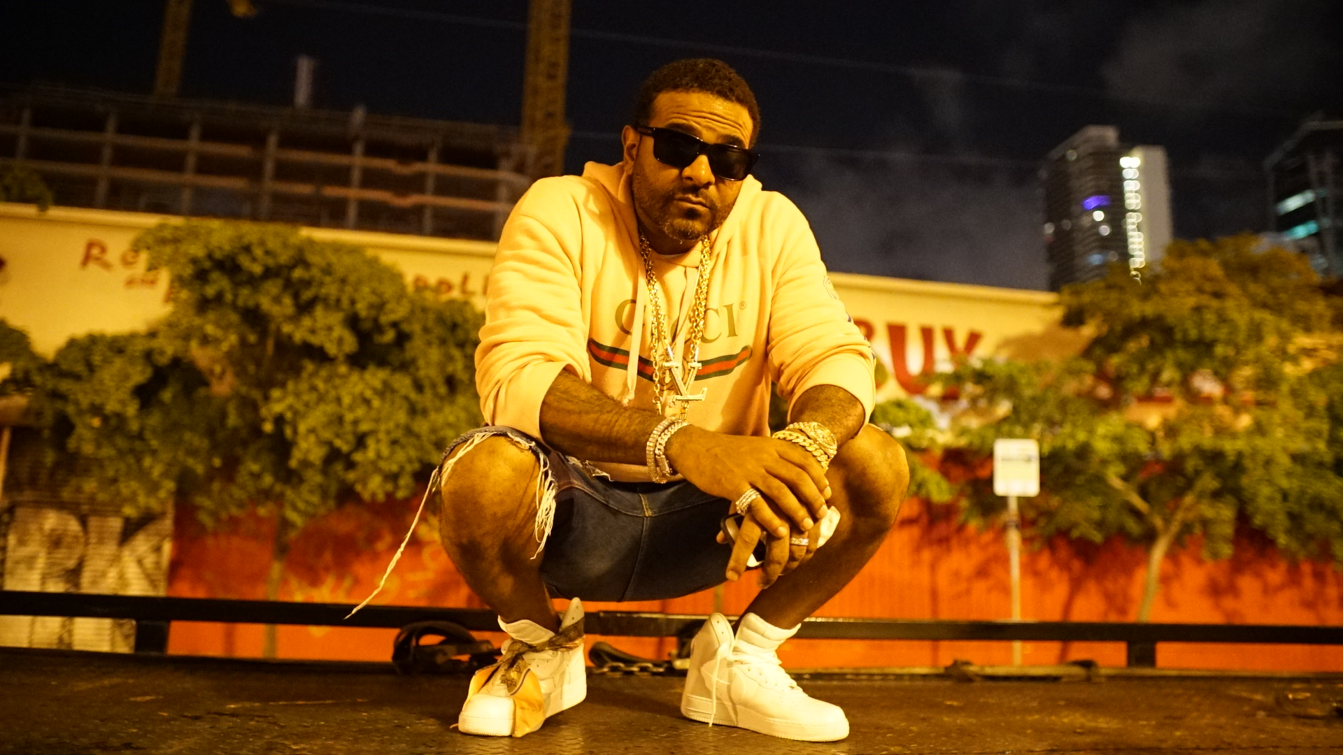 Jim Jones - Joseph Guillermo Jones II (born July 15, 1976),[1] better known by his stage name Jim Jones (formerly Jimmy Jones), is an American rapper and music video director. Jones, an original member of hip hop collective The Diplomats (also known as Dipset), is also the co-CEO of Diplomat Records, alongside longtime friend and fellow Harlem-bred rapper, Cam'ron.[2][3] Jones is also a noted music video director under the pseudonym CAPO, having directed videos for artists including Cam'ron, Juelz Santana, Remy Ma and State Property.In 2004, he released his solo debut album On My Way to Church. The release of his second album, Harlem: Diary of a Summer in 2005, coincided with Jones landing an executive position in A&R at E1 Music. A year later he was on his third album Hustler's P.O.M.E. (Product of My Environment)(2006), which spawned his biggest single to date,