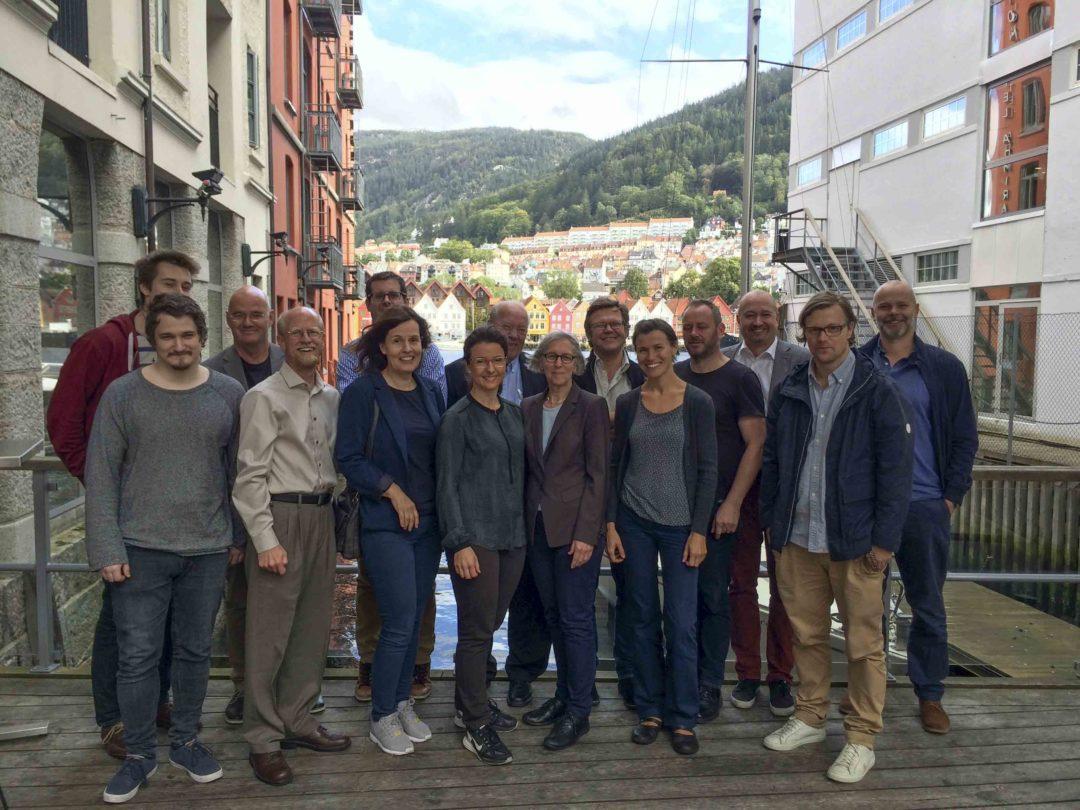 IN BERGEN:The ViSmedia research group at the seminar at Clarion Hotel Admiral. (PHOTO: Sigrid Haaland/ViSmedia)