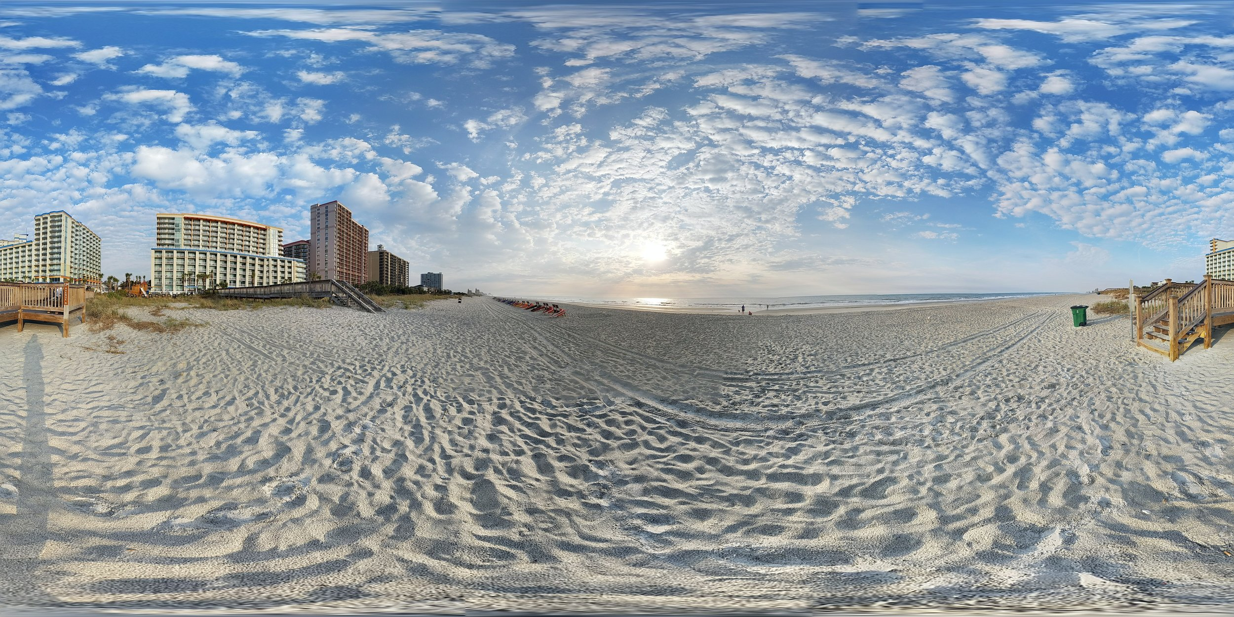 IMMERSED: Uskali and the other researchers look into the emotional connection Virtual Reality can give to the story. This photo is from Myrtle Beach.(Photo:  Jonas Tana/  Flickr )