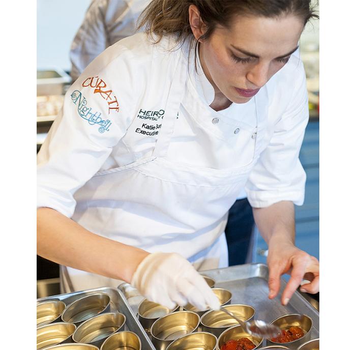 Chef Katie Button for Rías Baixas