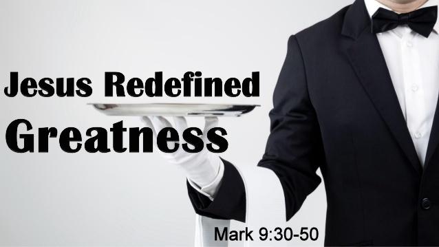 How to be Great - January 28, 2018 Randy HammMark 9:30-50