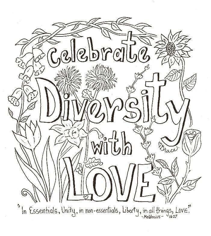 Our Beautiful Diversity - May 6, 2018 Grace WulffGal. 3:26-28/ 1 Cor. 12:12-14