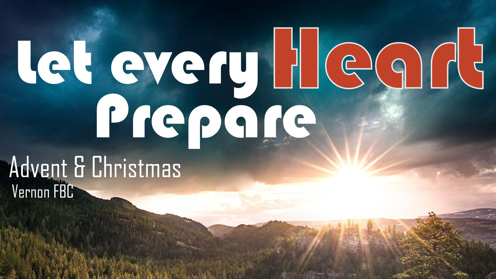 Over Advent this year we will seek to Prepare our Hearts… For Hope…For Peace…For Joy…For Love. Jesus has so much for us, we only have to follow His invitation.
