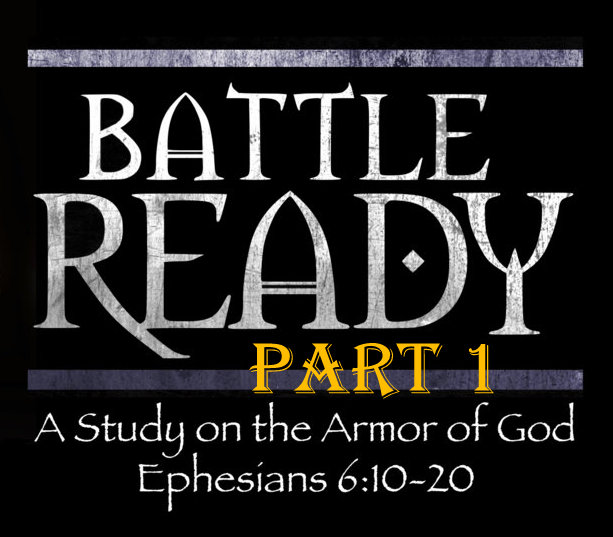 Battle Ready Part one - March 17, 2019 Randy Hamm Ephesians 6:10-20Paul gives us the first three pieces of armour and we look at how St Patrick used them!