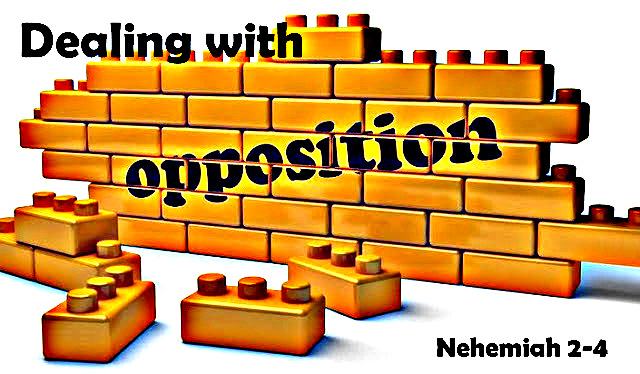 Dealing with opposition - May 12, 2019 Randy HammNehemiah 2-4 (Yes- 3 chapters!)Nehemiah moves forward with his Vision from God despite intense opposition, which we can all learn from.