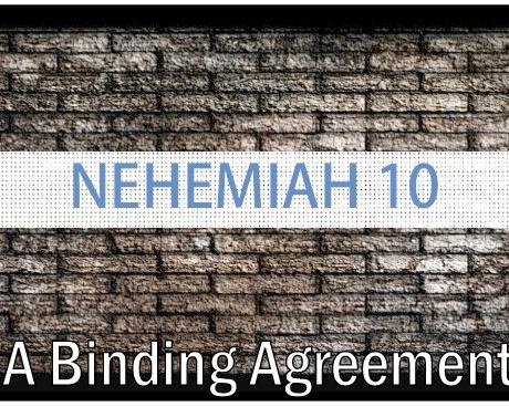 A Binding Agreement - June 16, 2019 Randy HammNehemiah 9:38-11:2The People of God respond to their confession with a clear vision of who they are to be with a detailed mission to accomplish it. May we do the same!