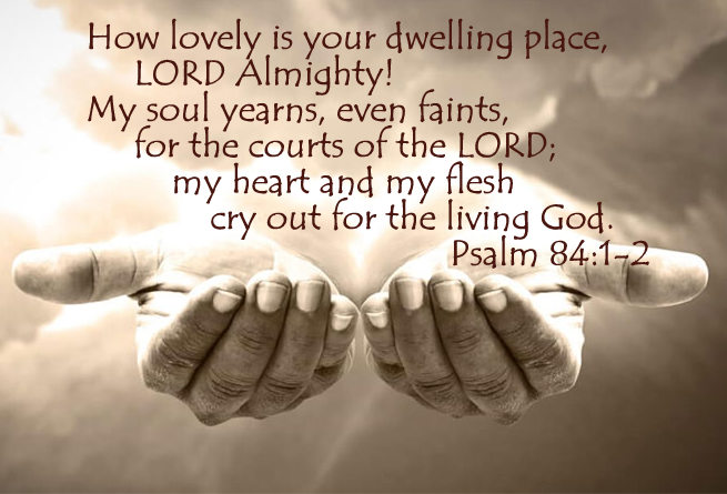 Coming Home - July 21, 2019 Randy HammPsalm 84 The psalmist loves, even longs for going to church, but its not the building that is his deepest longing.