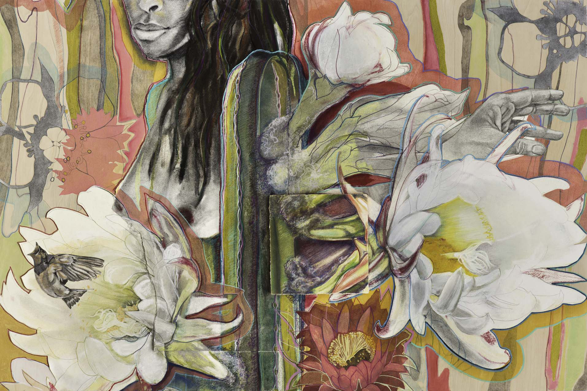 Blooming from Within, Panel 2