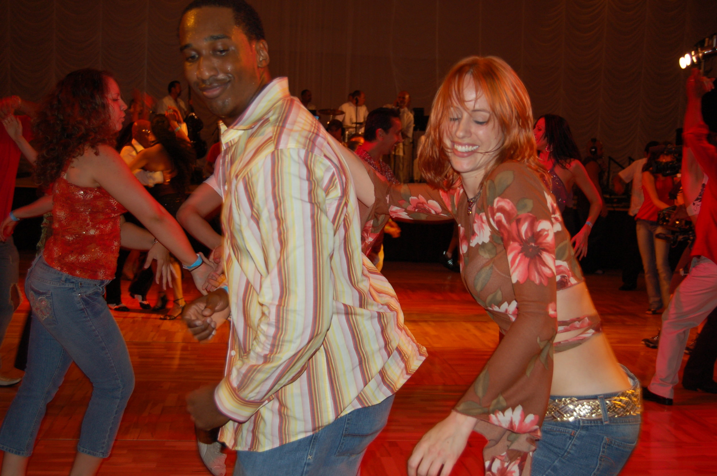Salsa/Mambo - Juliet offers classes in salsa on-1 and salsa on-2 as well as salsa dance history. Her teaching focus on musicality and creative expression. Juliet has been teaching salsa since 1999 and has been responsible for precipitating a clave obsession in thousands of students.