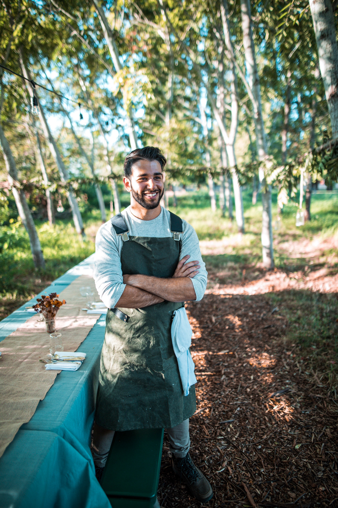 Voyager's Table Chef and Co-Founder Justin Khanna