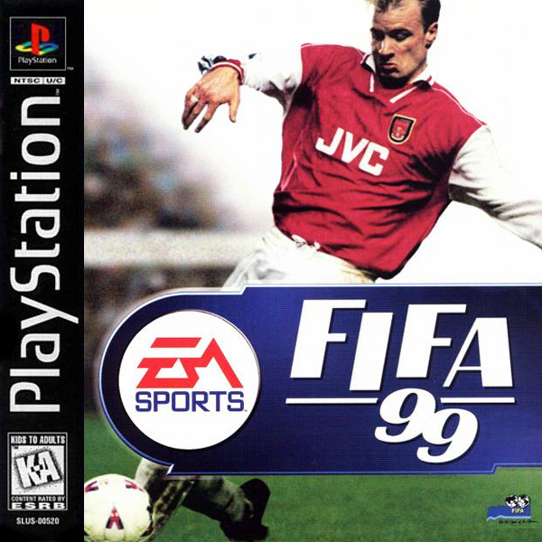 FIFA 99 (1998). UI Design Lead, PlayStation.