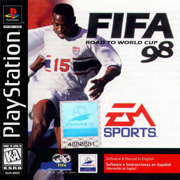 FIFA Road to the World Cup 98 (1997). UI Designer, PlayStation.