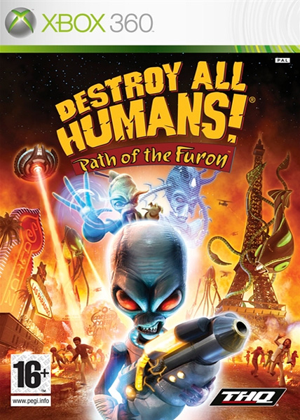 Destroy All Humans!Path of Furon (2008). Art Manager, Xbox 360 and PlayStation3 (left during pre-production).