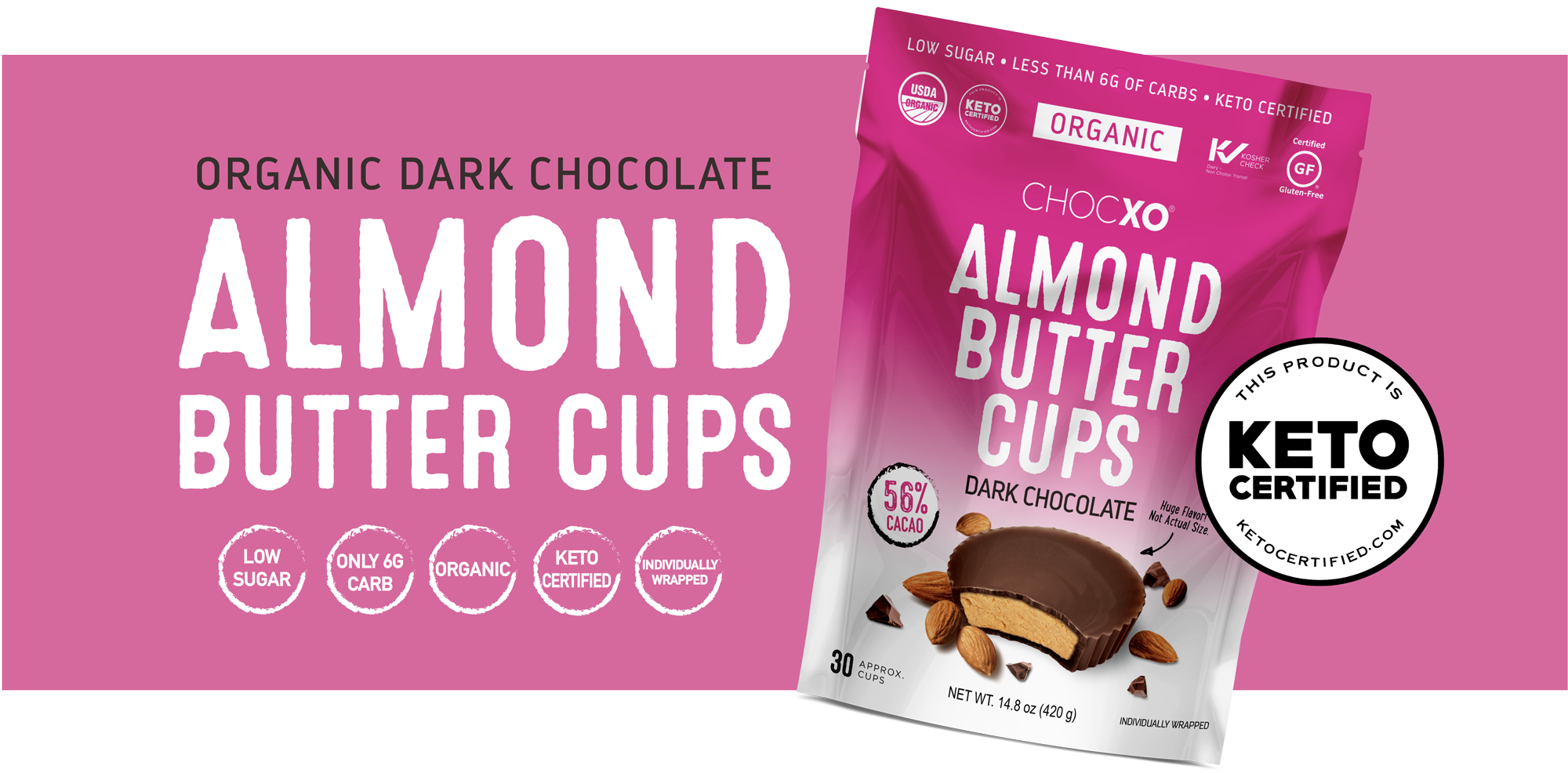Chocxo Almond Butter Cup